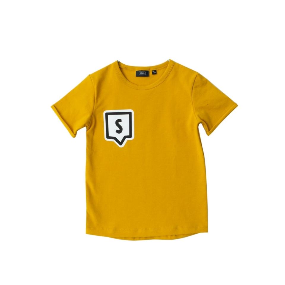 Shirt met Letter voorkant