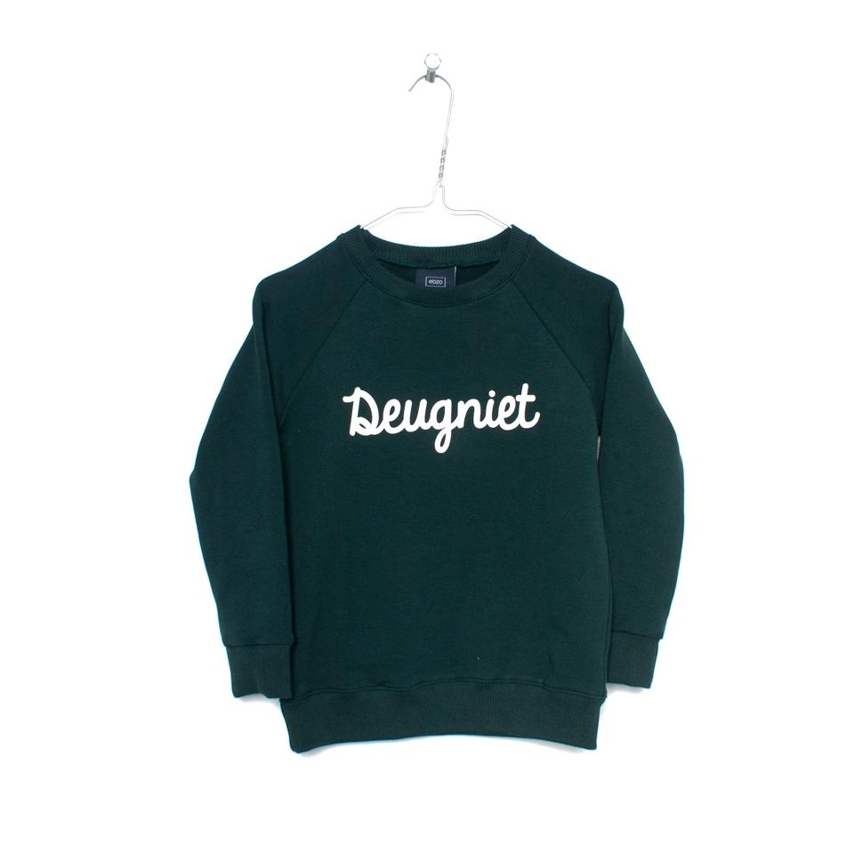 Sweater Deugniet donkergroen