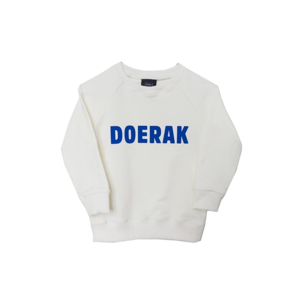 Sweater Doerak ecru voorzijde
