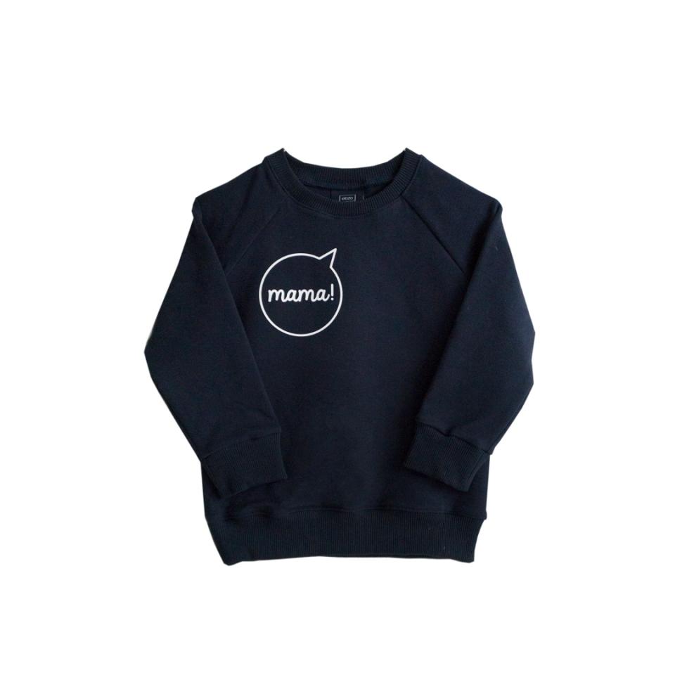 Sweater mama! donker blauw