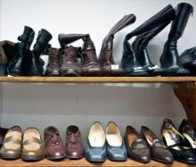Schoenen kledingbeurs